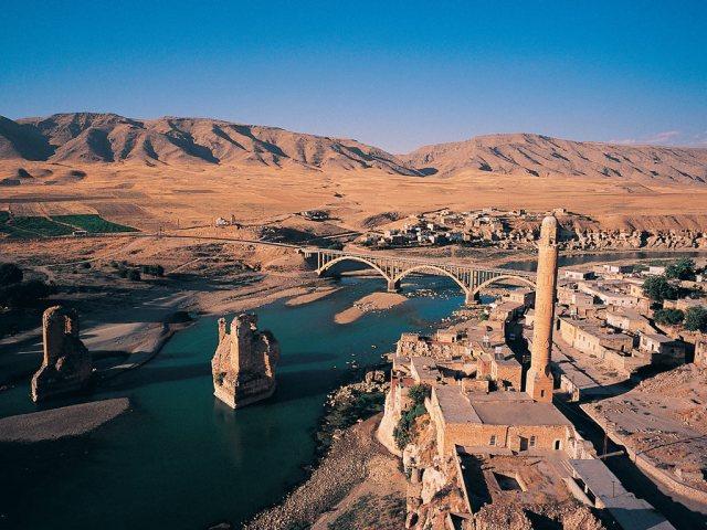 Hasankeyf está en peligro de ser inundada cuando se complete la construcción de la presa