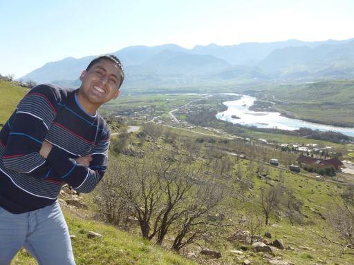 Alex Lozano Cast durante su segundo viaje al Kurdistán
