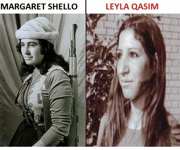 Margaret Shello y Leyla Qasim