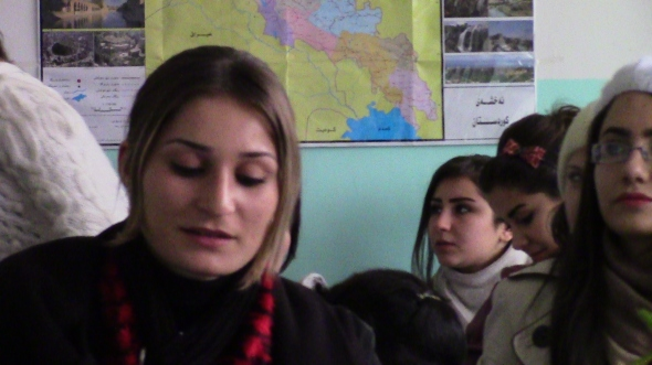 Alumnas del instituto kurdo / Actualidad Kurda
