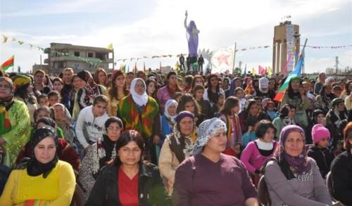 mujeres kurdas Rojava