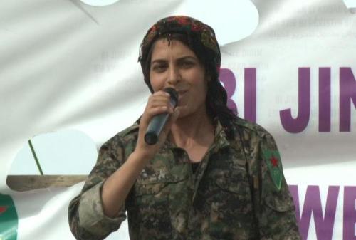 Viyan Peyman en Kobane  / Hawar News