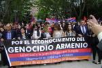 Acto del Genocidio Armenio en la Plaza de Espana  / Actualidad Kurda