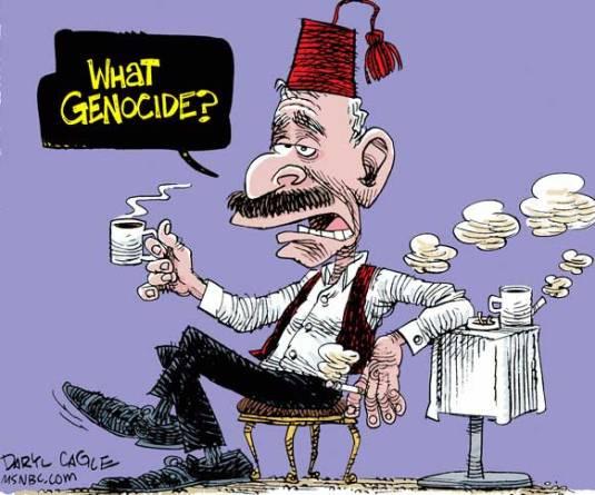 """Erdogan: """"Que génocidio?"""""""