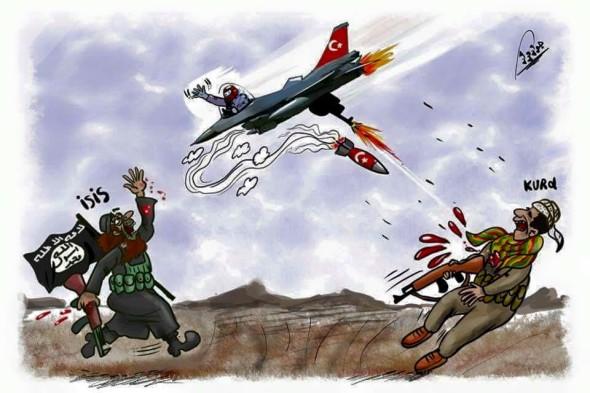 Guerra contra los kurdos