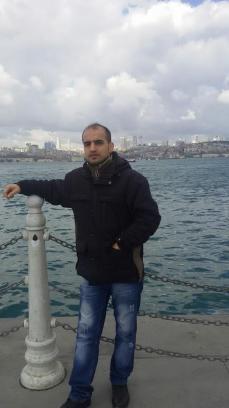 Ali Ala, en Turquia, el pasado mes de marzo / Facebook