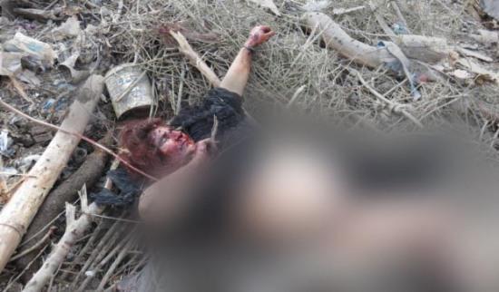 Una de los nueve aldeanos fallecido durante el bombardeo turco sobre los montes Qendîl / ANF