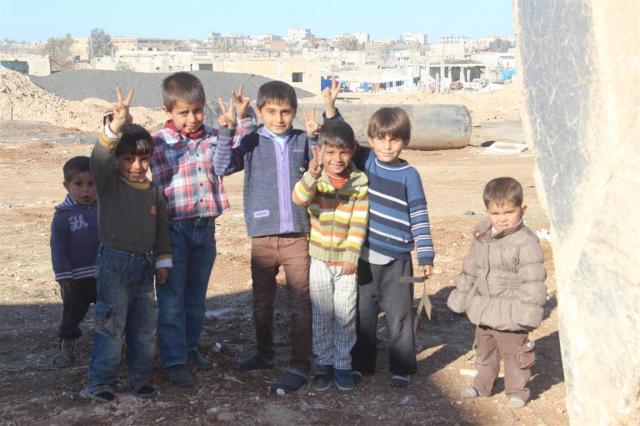 Niños de Kobanê / Hawar News