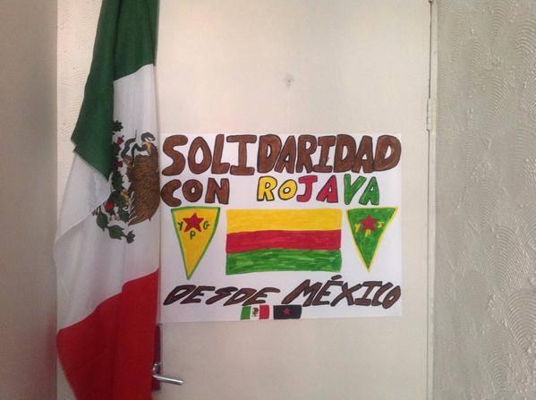 Solidaridad con los kurdos desde México / Oso Sabio @OsoSabioUK