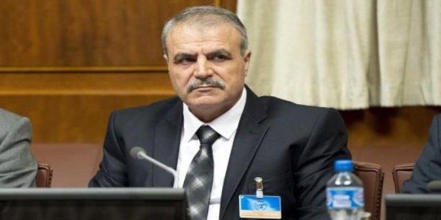 Asaad Al-Zubi, jefe del Alto Comité de Negociaciones de la oposición siria.