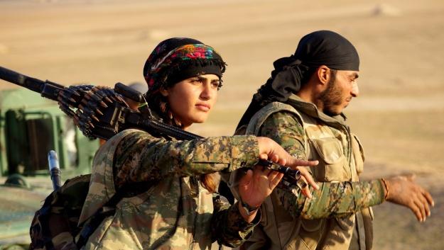 Resultado de imagen para Imagenes de los combatientes kurdos