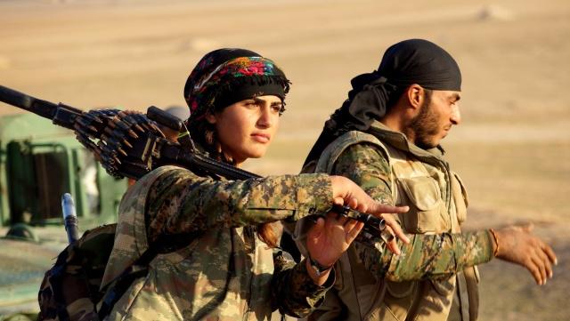 Combatientes de las YPJ y las YPG / Foto: YPG